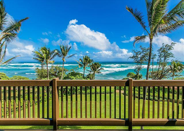 Kaha Lani Resort #326, Oceanfront, Steps to Beach, Free WiFi & Parking, holiday rental in Lihue