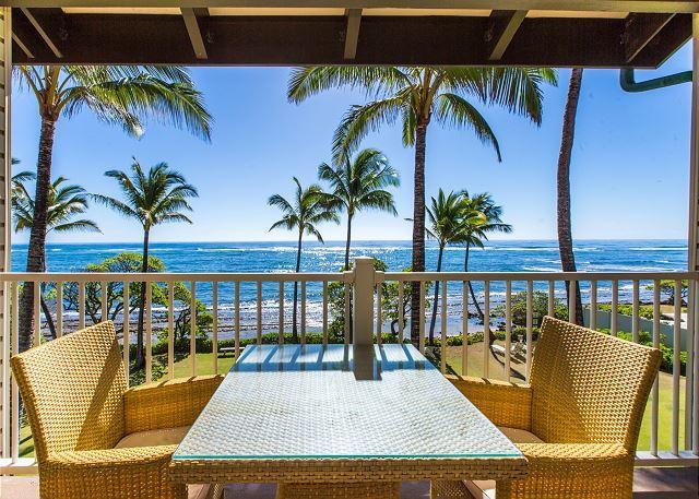 Kapaa Shore Resort #305, Oceanfront, Near Shops, Restaurants & Beaches, vacation rental in Kapaa