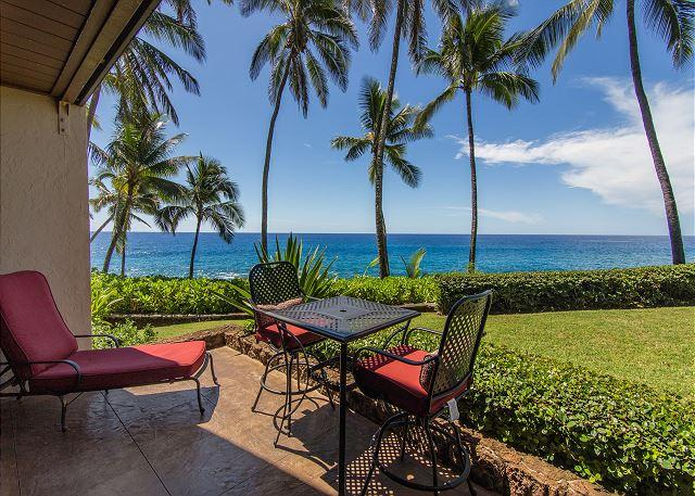 Poipu Makai, Gorgeous Oceanfront Views, Walk to Poipu Beach, Free Wifi/Parkg, holiday rental in Poipu