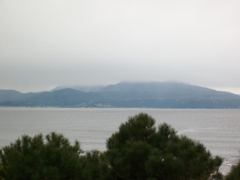 view from the balcony with backdrop of Lefkada(2)