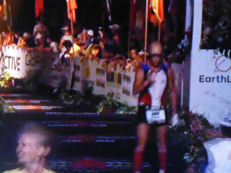 Finish line 2015 Ironman.