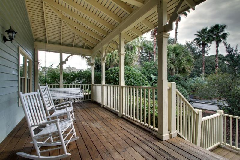 Relax in the rocking chairs on the front porch!