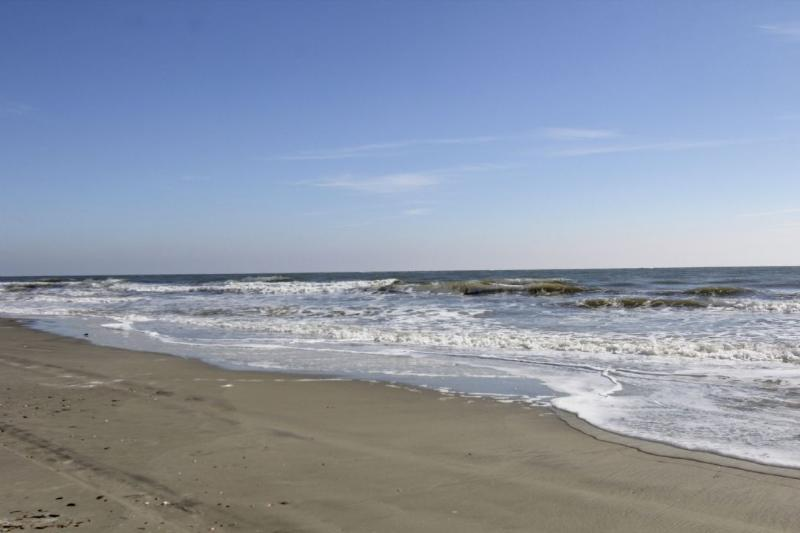The Ocean is calling you...just steps away