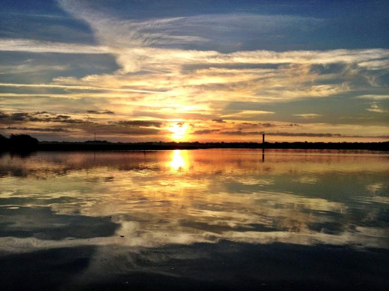 Experience IOP's captivating sunsets
