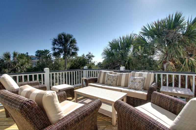 Enjoy the evening breeze on the deck