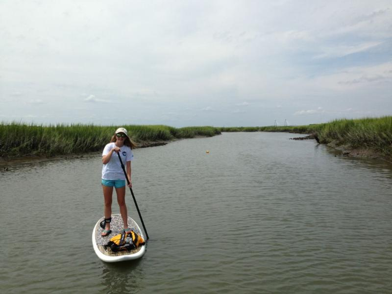 Paddle Boarding At It's Best, IOP Marina