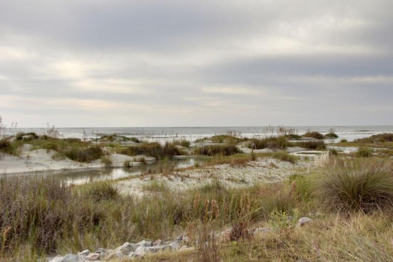 Belles Dunes de sable au Mariners marche!
