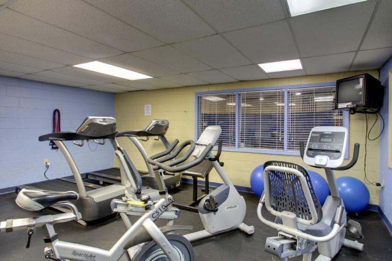 Work Out at Isle of Palms Center, 2 Miles Away