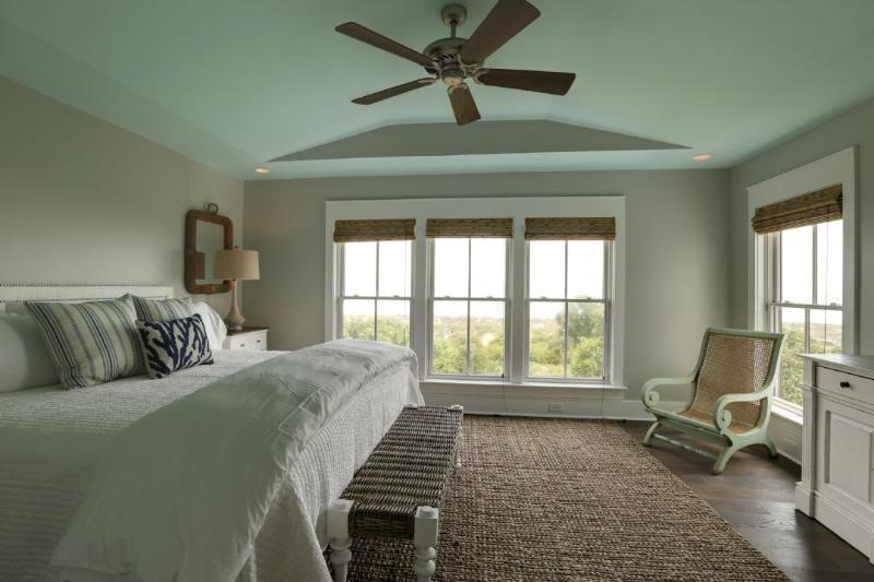 Second Master Bedroom, Top Floor, King Bed