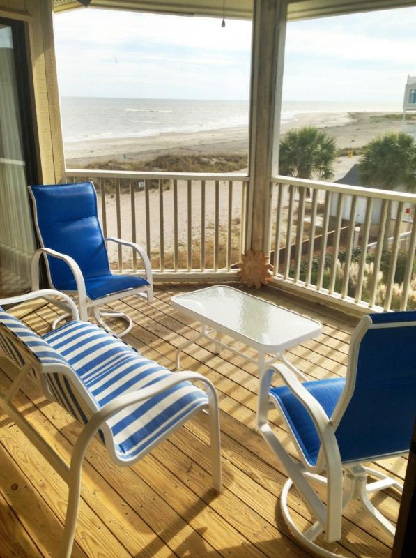 Screen Porch Is So Unique! Oceanfront!