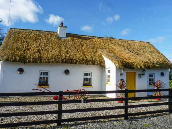 FITZPATRICKS COTTAGE, detached, thatched cottage, en-suite, solid fuel stove, vacation rental in Ballyragget