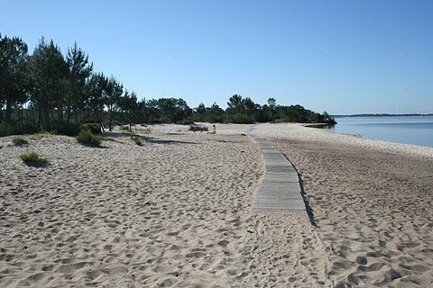 praia principal Hourtin-Port
