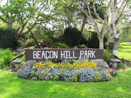 Beacon Hill Park - at your doorstep!