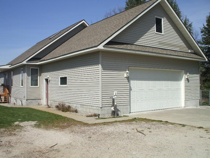 Back side of the house