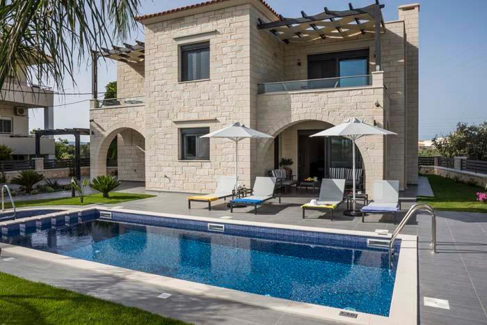 Villa Almyrida, location de vacances à Almyrida