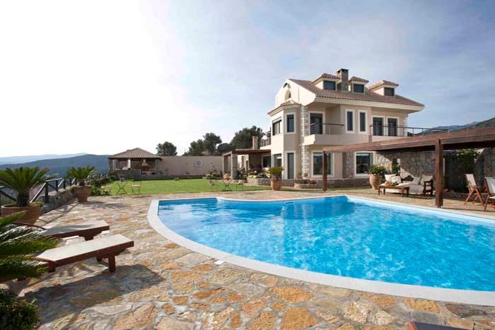 Villa Blue View, holiday rental in Agios Nikolaos
