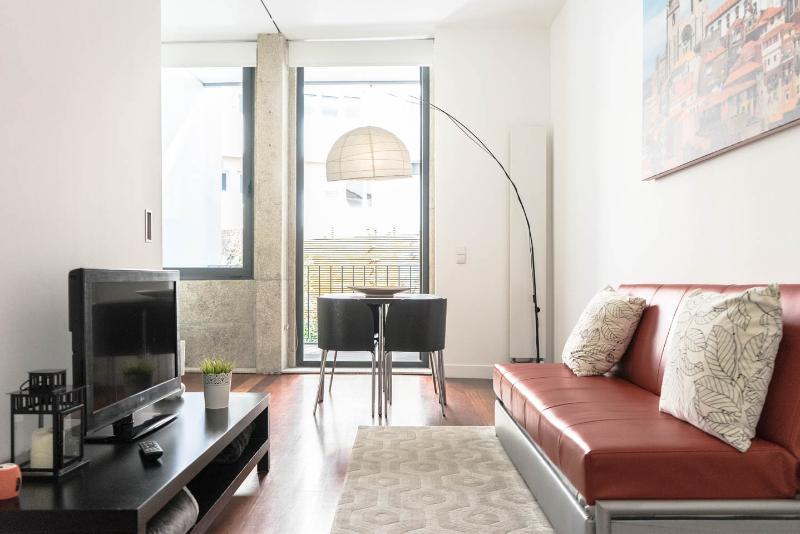 Estúdio Sé - Studio Se Sala de estar, vista para varanda