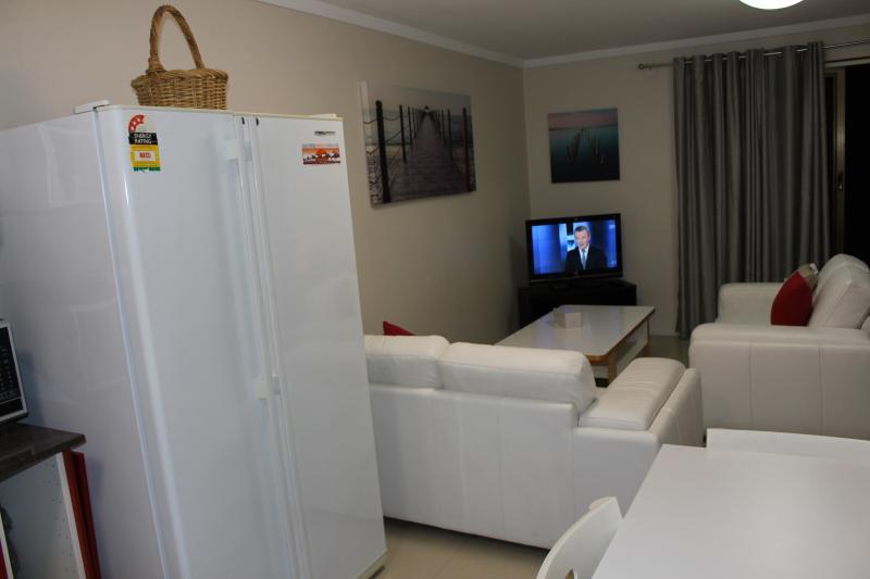 Large twin door fridge