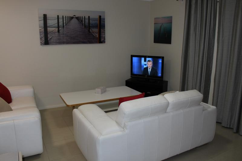 Cosy lounge with LED TV