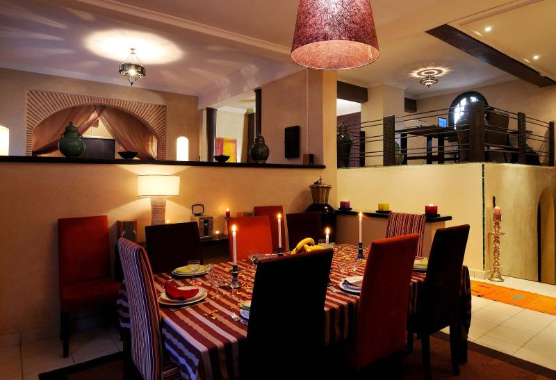 Ample room to cater for 10 guests.