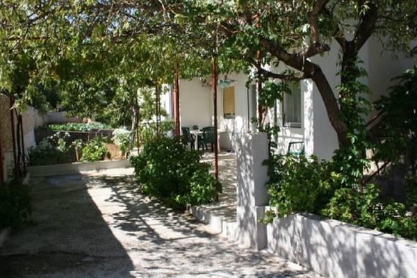 Terrasse and garden