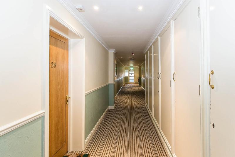 Corridor outside apartment