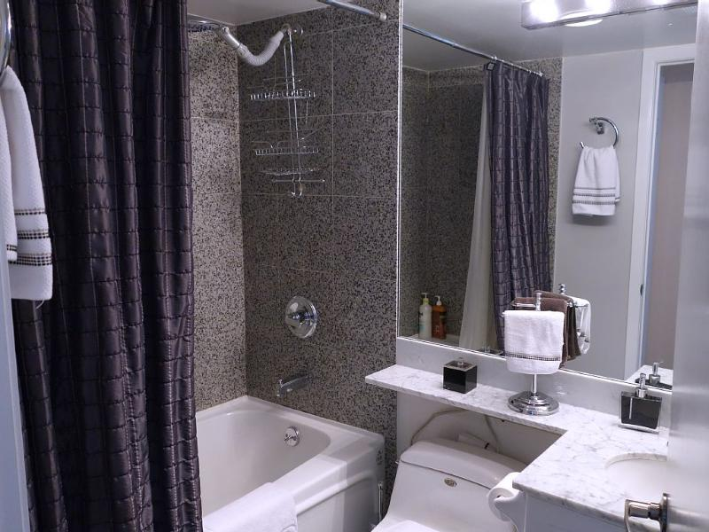 Granite Walls in the Shower