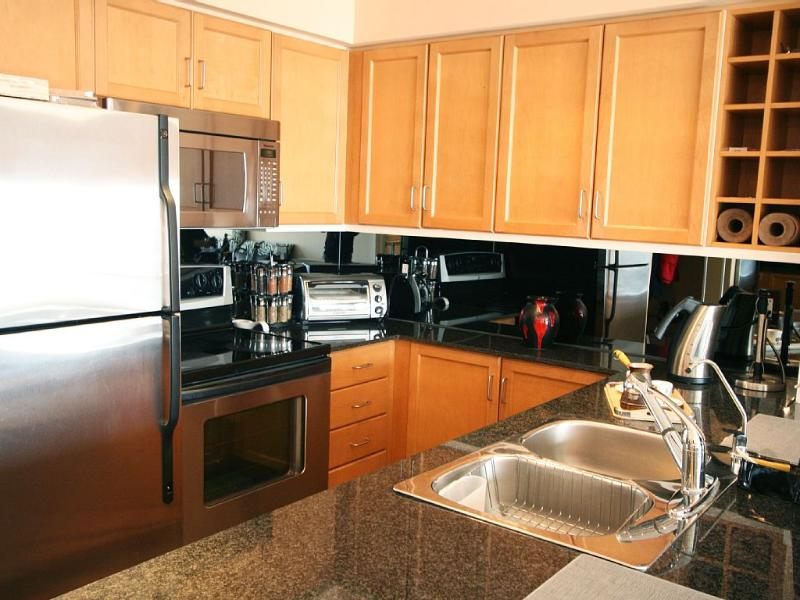 Modern Kitchen with all the Amenities and Utensils