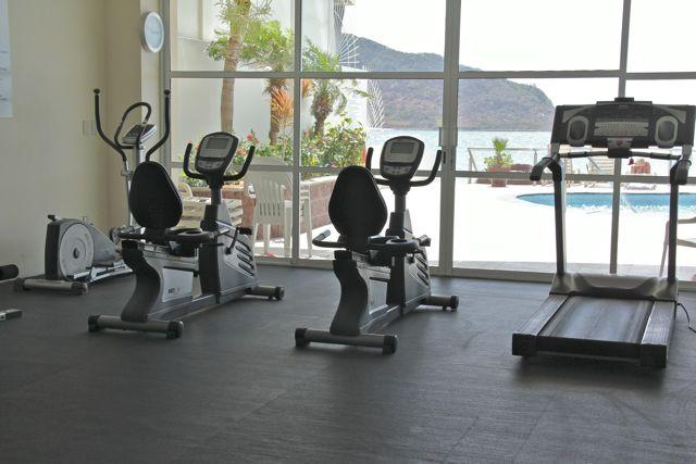 A gym with a view!