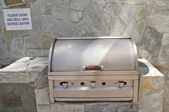 BBQ available for use in common areas.