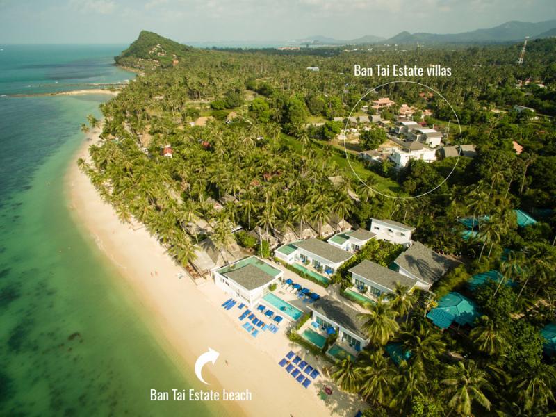 Ban Tai Estate location