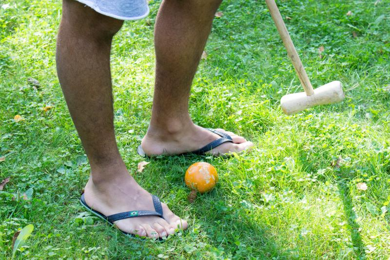 Some activities like croquet