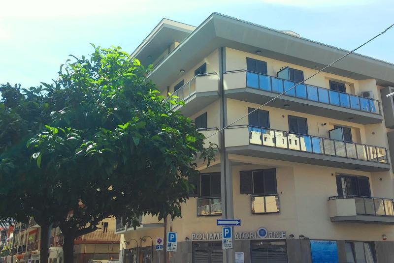 Appartamento visto dall'esterno