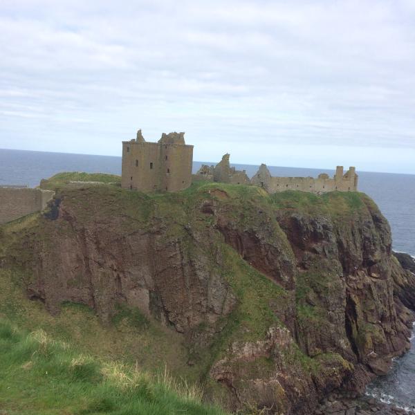 Spectacular Dunnottar Castle - a 30minute walk away