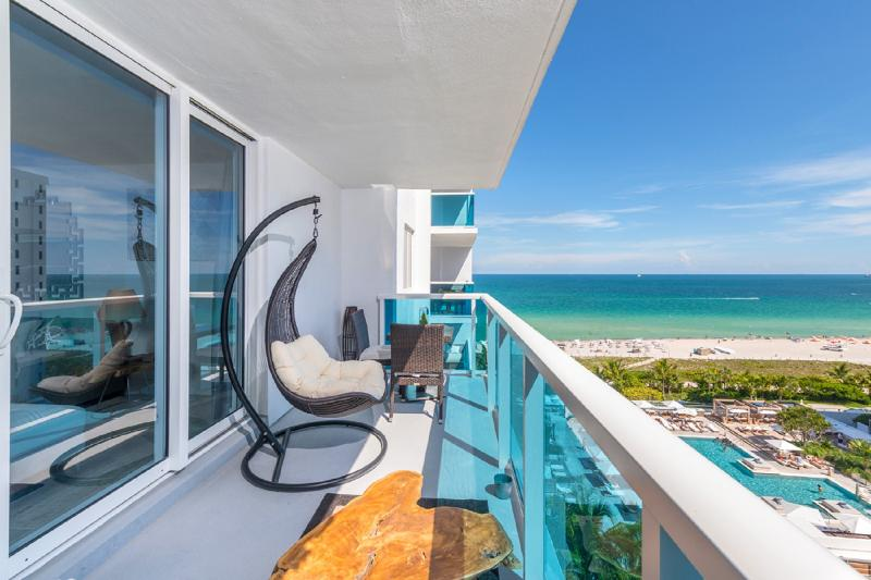 *Stunning - 5*-1BR-Oceanfront-Spacious- South Beach-Owner Resort Residence*, alquiler de vacaciones en Miami Beach