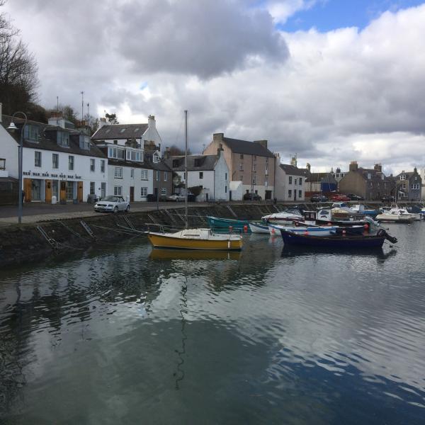 Tranquil harbourside location