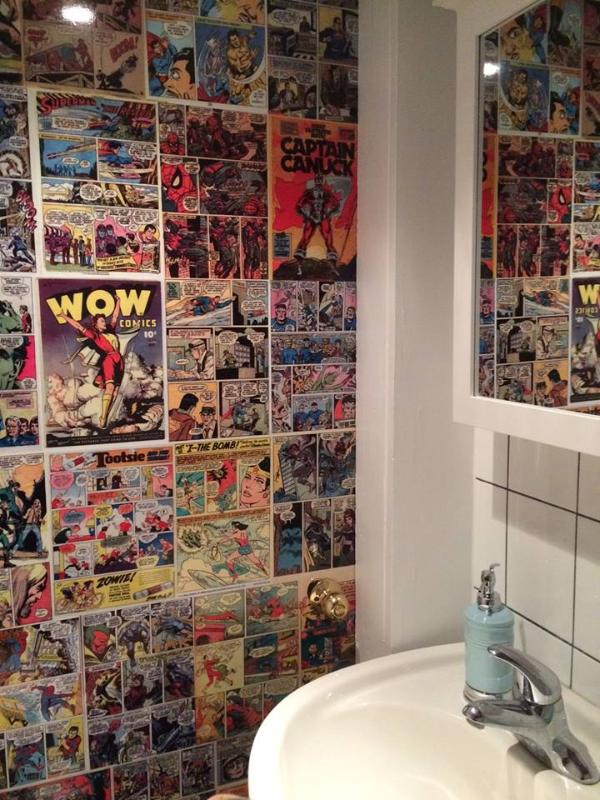 These comic book graphics promise to entertain!