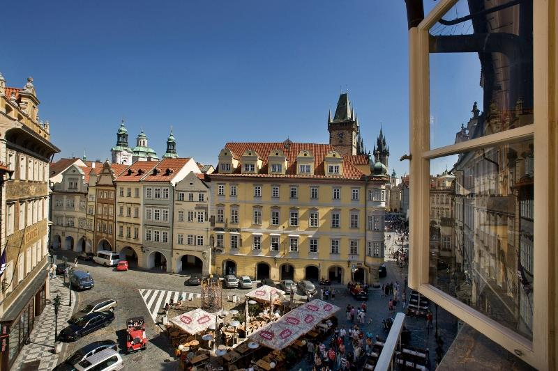View of Male namesti square