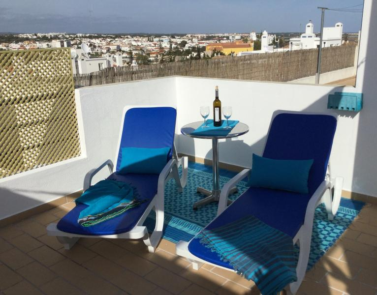 Sun terrace on the roof. Enjoy panoramic views or simply star-gazing
