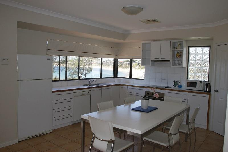 Fully appointed upstairs kitchen