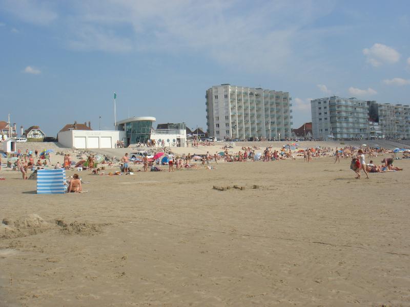 l'été sur la plage d'Hardelot