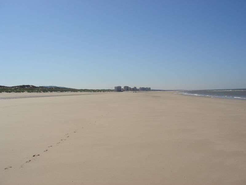 immense plage d'Hardelot de 17km,