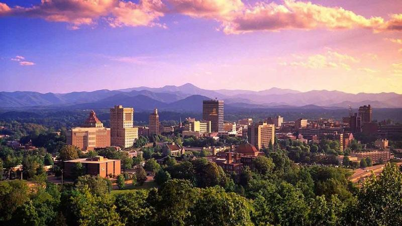 Downtown Asheville NC - only 40 minutes away