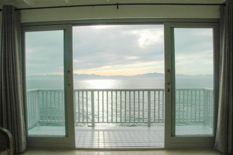 sunrise sea view from your living room - what a view!