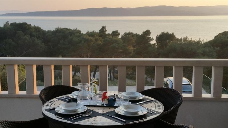 Apartments Ursic - A2 with open sea view I, alquiler de vacaciones en Brela