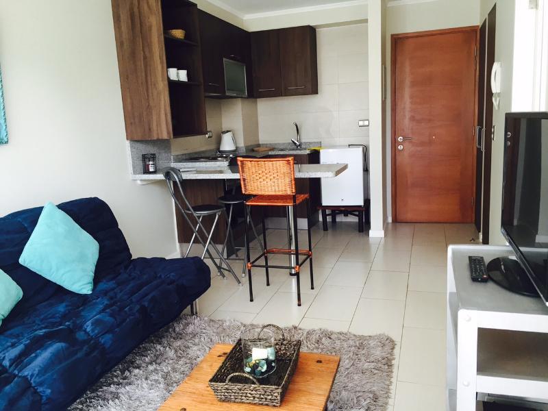 Hermoso departamento con terraza, holiday rental in Vilcun