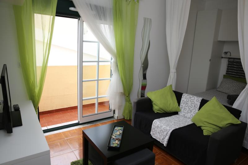 Estudio Verde con balcón 100m Playa Peniche, vacation rental in Peniche