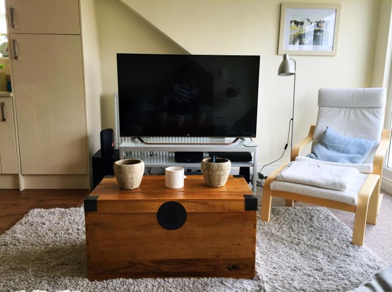 TV in lounge area