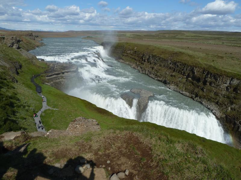 Gullfoss is only 1,5 hours drive away