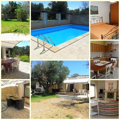 villa con piscina Salento tra Mancaversa e Gallipoli